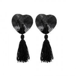 Pezoneras corazón negro · Paris Hollywood