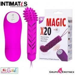Magic X20 · Vibrador control remoto · Baile