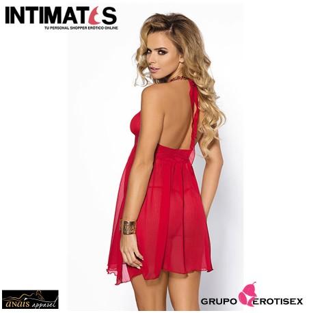 """Essie · Picardias y tanga rojo · Anaïs, que puedes adquirir en intimates.es """"Tu Personal Shopper Erótico Online"""""""