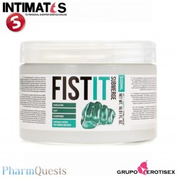 Fist-it Anal Submerge 500ml · Lubricante 100% puro · PharmQuest