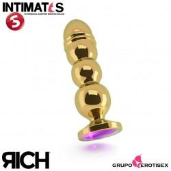 R10 - Gold Plug - 125mm - Purple Sapphire · Rich