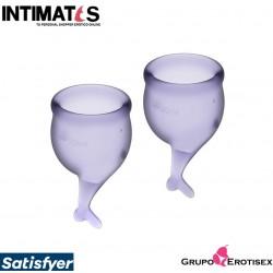 Feel Secure Purple · Menstrual Cups · Satisfyer