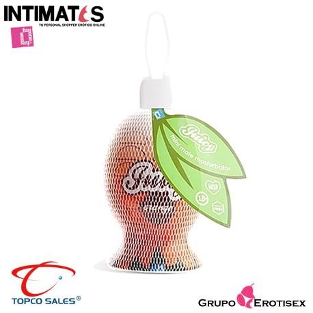 """Juicy Orange ·Mini masturbator masculino · Topco, que puedes adquirir en intimates.es """"Tu Personal Shopper Erótico Online"""""""