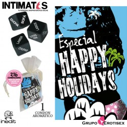 Happy Holidays · Pack Bolsa Organza · Inedit