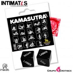 Kamasutra · Pack Condón y Dados Eróticos · Inedit