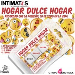 Hogar Dulce Hogar · 3 Dados Mini Emoticonos · Inedit