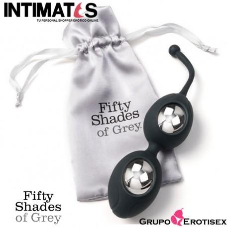 """Silicone Ben Wa Balls · Delicious Pleasure · Fifty Shades of Grey, que puedes adquirir en intimates.es """"Tu Personal Shopper Erótico Online"""""""