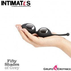 Silicone Ben Wa Balls · Delicious Pleasure · Fifty Shades of Grey