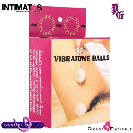 """Vibratone Balls · Bolas orgásmicas · Seven Creations, que puedes adquirir en intimates.es """"Tu Personal Shopper Erótico Online"""""""