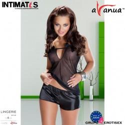 Asha · Sensual conjunto de camiseta y culotte · Avanua