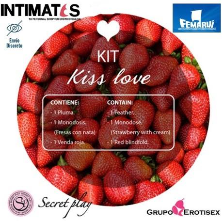 """Kiss Love · Kit para que los besos se potencien · Secret Play, que puedes adquirir en intimates.es """"Tu Personal Shopper Erótico Online"""""""