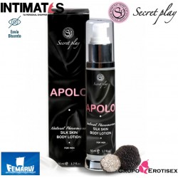 Apolo 50 ml · Loción corporal masculina piel de seda · Secret Play
