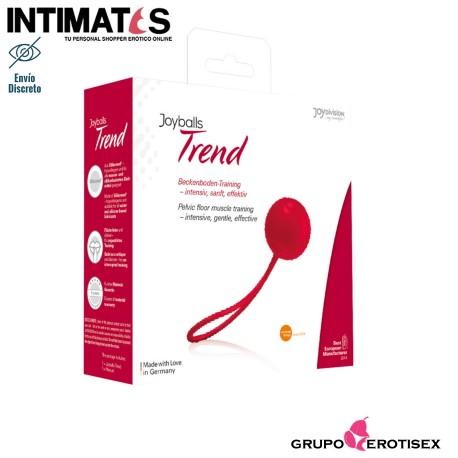 """Joyballs Trend Single - Red · Bola china · JoyDivision, que puedes adquirir en intimates.es """"Tu Personal Shopper Erótico Online"""""""