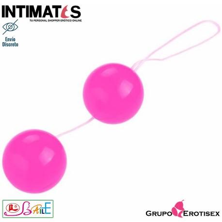 Twins Ball · Tira de bolas anales rosa · Baile