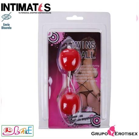 """Twins Ball · Tira de bolas anales rosa · Baile, que puedes adquirir en intimates.es """"Tu Personal Shopper Erótico Online"""""""