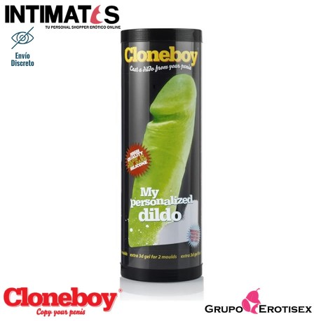 Consolador Glow in the Dark | Resplandor en la oscuridad · Cloneboy