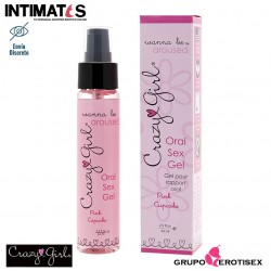 Wanna be Aroused 59ml · Gel comestible para Sexo Oral · Crazy Girl