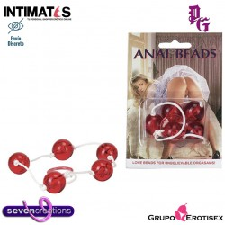 Anal Beads ♀ ♂ · Bolas anales · Seven Creations