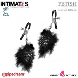 Feather Nipple Clamps · Pinzas para los pezones · Fetish Fantasy Series