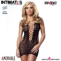 No. 1501 · Mini vestido abierto · Amorable by Rimba