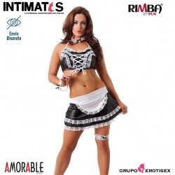 No. 1058 · Seductor conjunto de uniforme de sirvienta · Amorable by Rimba