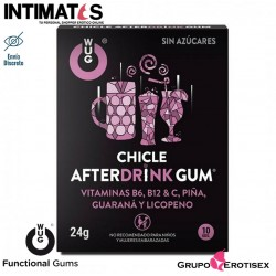 WUG After Drink · Mastica y disfruta · 10 uds. · Functional Gums