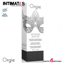 Intimus White · Crema íntima blanqueadora · Orgie