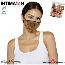 Alexi Rhinestone Face Mask Cover · Mascarilla facial · Leg avenue