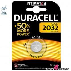 Pila de litio tipo botón CR2032 · Duracell