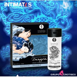 Dragon™ Sensitive · Crema intensificadora para pareja · Shunga