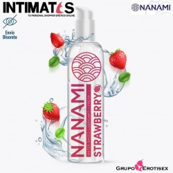 Strawberry 150ml · Lubricante base de agua · Nanami