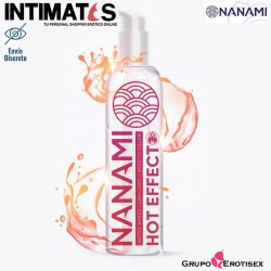 Hot Effect 150ml · Lubricante base de agua · Nanami