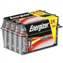 ENERGIZER ALKALINE POWER PILA ALCALINA AAA LR03 PACK*24