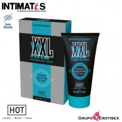 XXL · Crema vigorizante para él · Hot