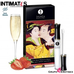 Divine Oral Pleasure Gloss · Strawberry Wine · Shunga