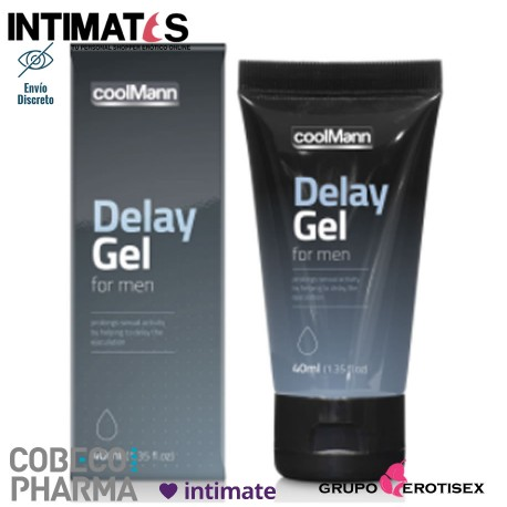 """CoolMan Delay Gel 30 ml · Cobeco, que puedes adquirir en intimates.es """"Tu Personal Shopper Erótico Online"""""""