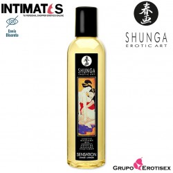 Sensation 250ml · Aceite para masajes eróticos · Shunga