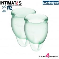 Feel Confident Light Green · Menstrual Cups · Satisfyer