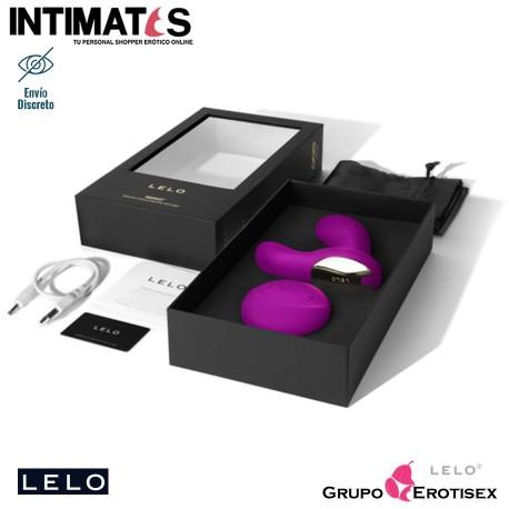"""Hugo™ · Masajeador de próstata rosa intenso · Lelo, que puedes adquirir en intimates.es """"Tu Personal Shopper Erótico Online"""""""