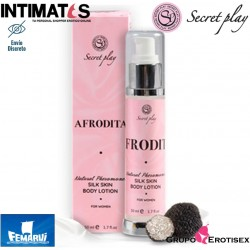 Afrodita 50 ml · Loción corporal piel de seda · Secret Play