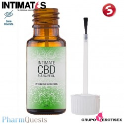 Intimate CBD - 20 ml · Aceite de placer íntimo con cannabidol · PharmQuest