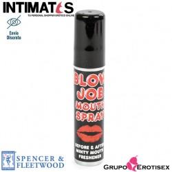 Blow Job · Spray bucal de menta · Spencer & Fleetwood