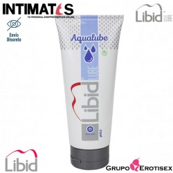 Aqualube 200 ml · Lubricante a base de agua · Libid Lube