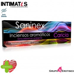 Caricia 20 Sticks · Incienso aromático · Saninex