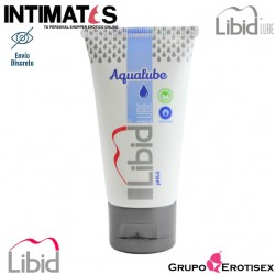 Aqualube 50 ml · Lubricante a base de agua · Libid Lube