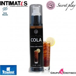 Lubricante 2 en 1 efecto calor 50ml - Cola · Secret Play