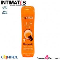 Lub Gel · Lubricante con aroma a chocolate · Control