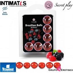 Brazilian Balls Berries 6 uds. · Secret Play