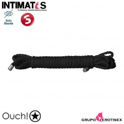 Kinbaku Mini Rope Black - 5m · Ouch!