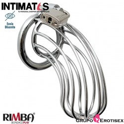 Metal Male Chastity Device · Jaula de Castidad · Rimba Bondage Play
